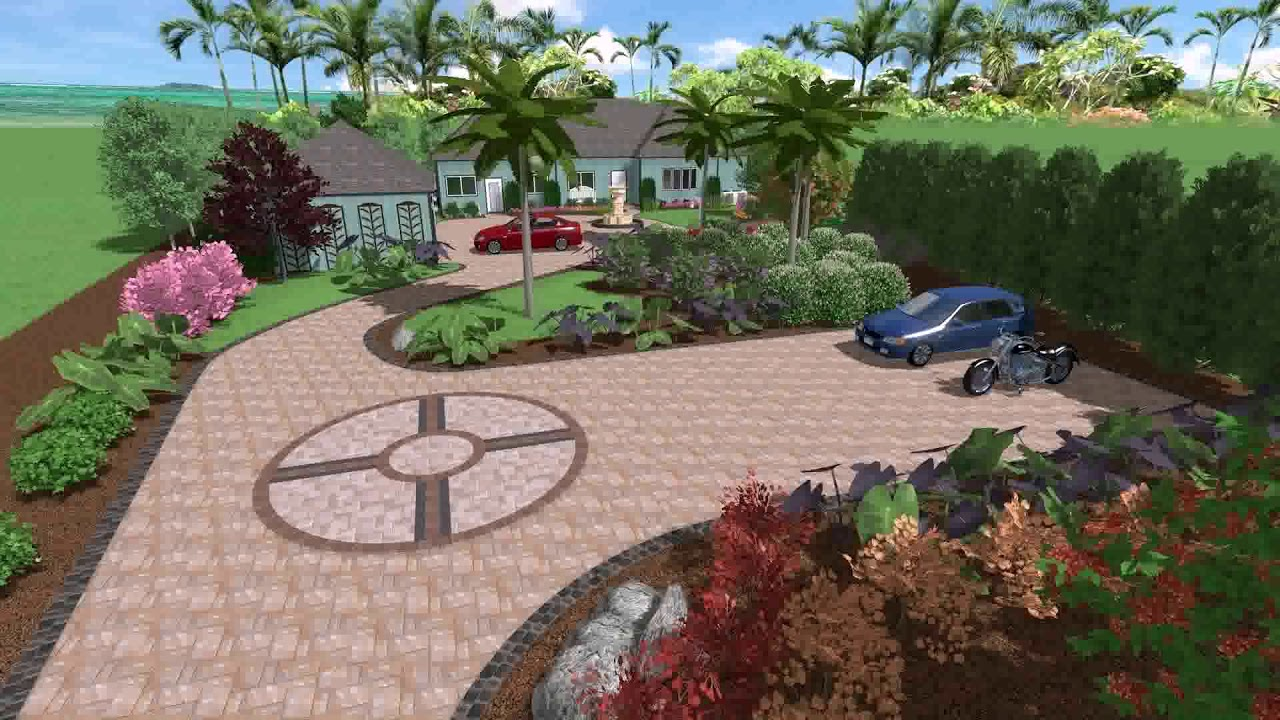Free Diy Landscape Design App - YouTube