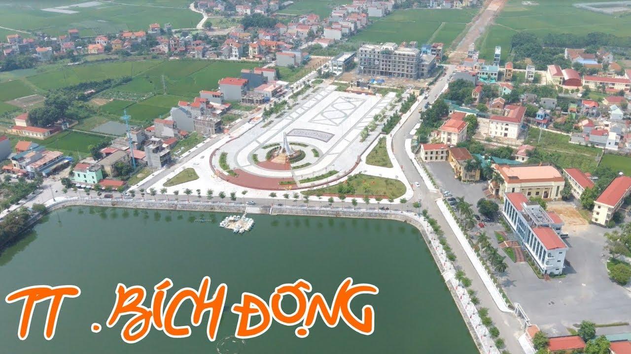 Thị Trấn Bích Động Huyện Việt Yên Tỉnh Bắc Giang Quá Đẹp