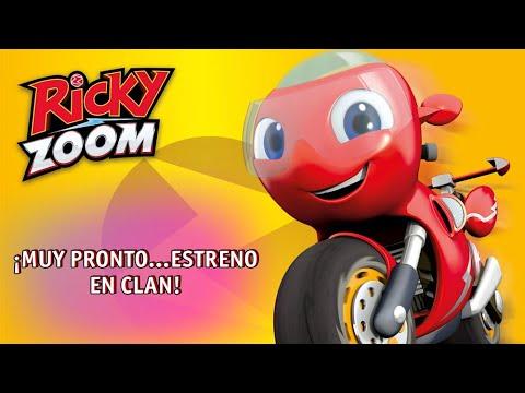 ¡Disfruta En Exclusiva Del Primer Episodio De Ricky Zoom, La Nueva Estrella De Clan!