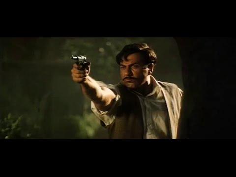 Chandrashekhar Azad fighting the last heroic battle