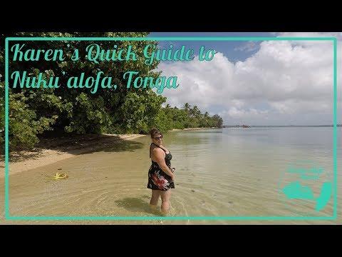 Karen's Quick Guide to Nuku'alofa, Tonga