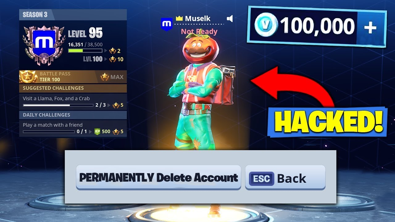 hackers in fortnite xbox one