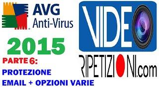 AVG ANTIVIRUS 2015: PROTEZIONE EMAIL + OPZIONI VARIE - VIDEORIPETIZIONI PARTE 6