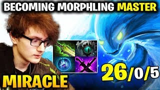 Miracle is Spamming Morphling to become a Master
