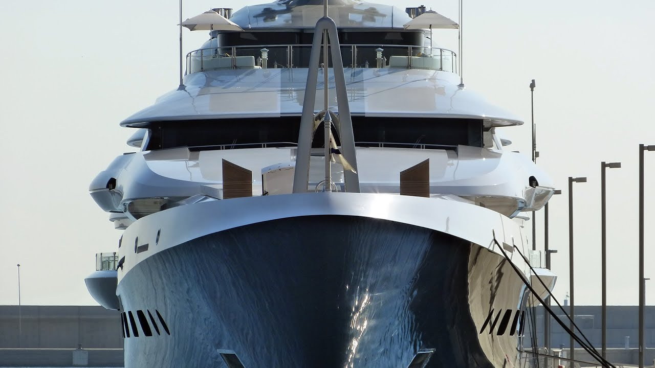 Megayacht Attessa Iv Hd Youtube