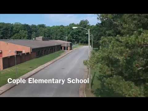 Cople Elementary School Paving August 14, 2019