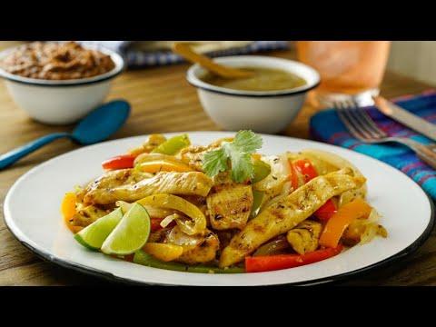 Fajitas de Pollo | Chicken Fajitas