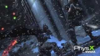 Batman: Arkham Origins Geforce GTX Technology Trailer