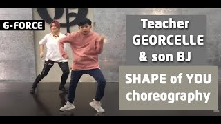 Download lagu Teacher Georcelle dances Shape of You with son BJ at G-Force Dance Center