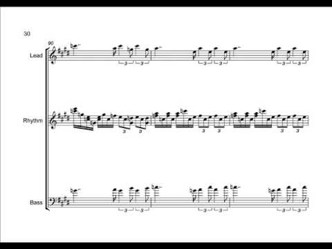 Wagner. Tannhauser overture. Cover for rock band(score).