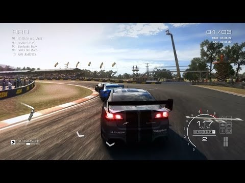 Grid AutoSport Gameplay Bathurst V8 Supercars