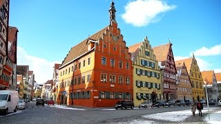 Dinkelsbühl in Franken hat laut Focus die schönste Altstadt Deutschlands