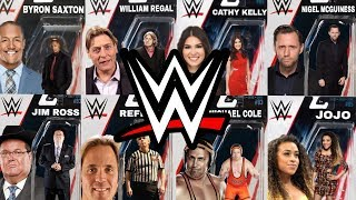 NEW WWE MATTEL WRESTLING FIGURES I'D LOVE TO SEE IN 2018 - NON WRESTLING PERSONALITY  SPECIAL