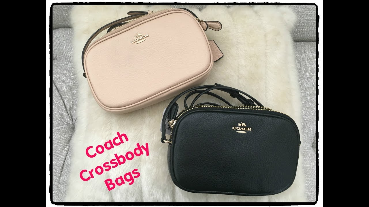 aa061919935b Mini Coach Crossbody Bags and What Fit s Inside - YouTube
