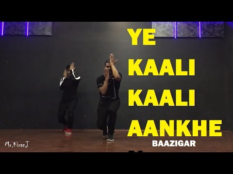 Ye Kaali Kaali Aankhen | Baazigar | KiranJ | DancePeople Studios