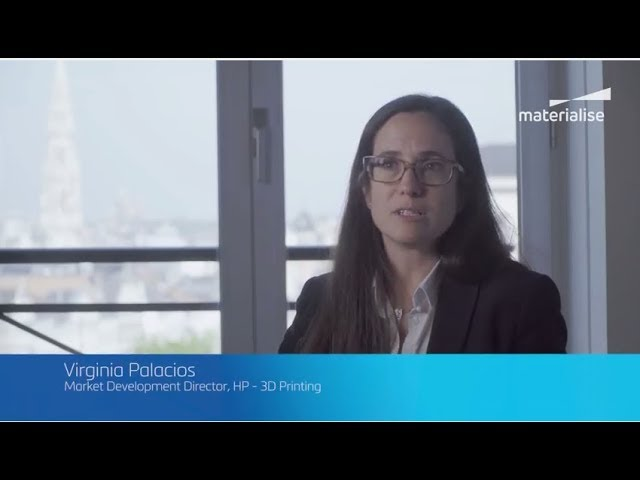 HP Materialise leadership talk interview Virginia Palacios