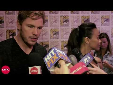 Comic Con '13 - GUARDIANS OF THE GALAXY Cast Chats With AMC