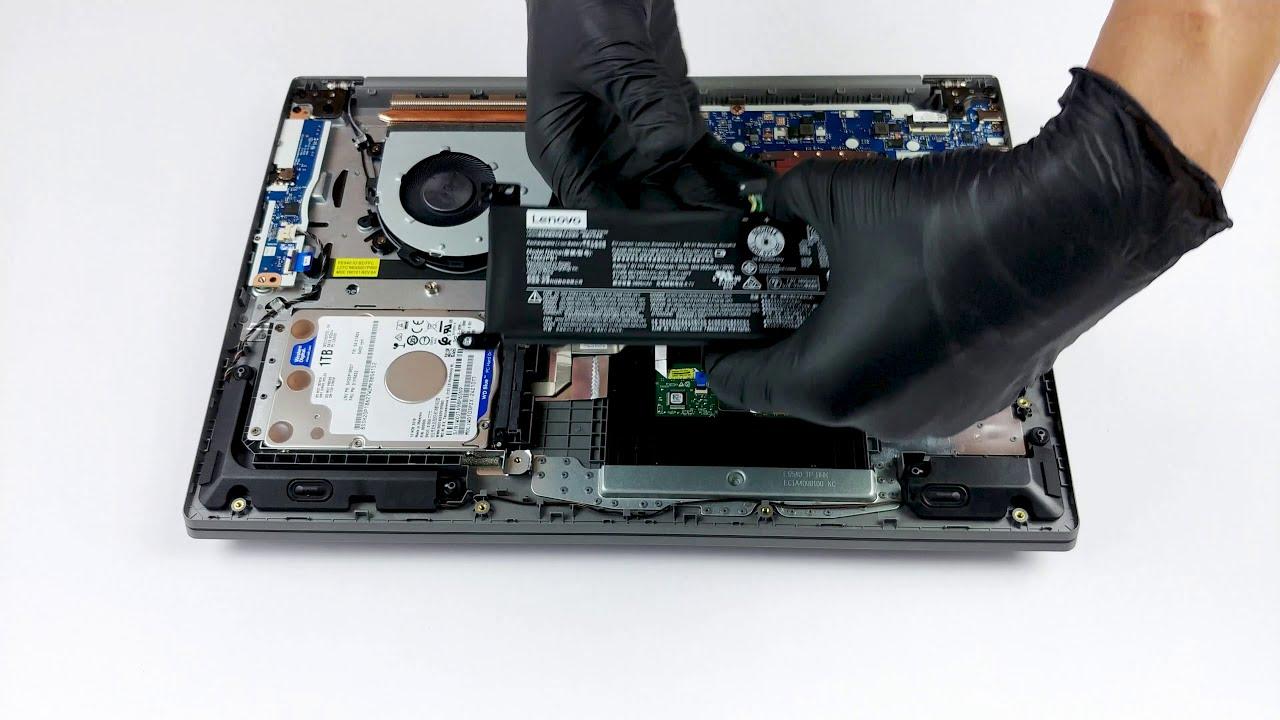 Lenovo Ideapad S145 15 - disassembly and upgrade options