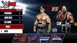 WWE RAW JOHN CENA VS BIG SHOW FIGHT IN WWE 2K