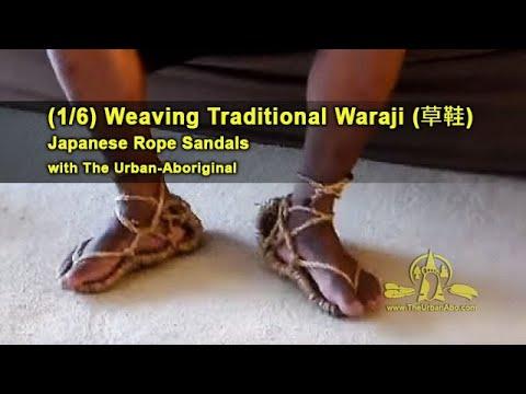 1821c7cd41282f (1 6) Weaving Traditional Waraji (rope sandals) w  The Urban-Abo  Intro