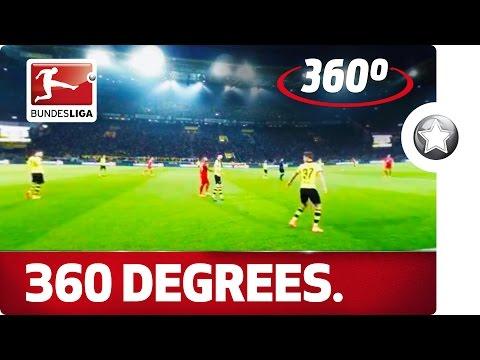 360 Degrees! BVB vs. FCB - Der Klassiker From an Extraordinary Angle