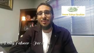 Juz 08 - Summary of a Juz - Shaykh Yahya Ibrahim