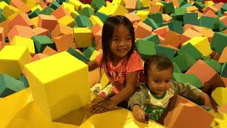 Zara main di Angry Birds Activity Park Johor Bahru | Fun Playground for Children