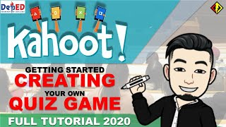 KAHOOT FULL TUTORIAL 2020 (GETTING STARTED: CREATING ACCOUNT AND QUIZ GAME)