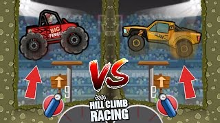 Hill Climb Racing Trophy Truck 💩 VS Big Finger 🏆