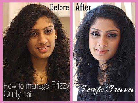 how to style curly frizzy hair how to manage curly frizzy hair 6494