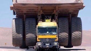 видео Cамый длинный тягач в мире