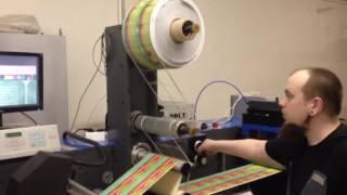 видео Производство термоэтикеток