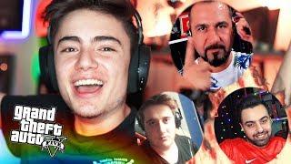 YENİDEN EKİP BİR ARADA !!! (4 FACECAM) - GTA 5 Online