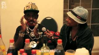 Interview Lee Scratch Perry, 03.08.2013, Reggae Jam, Bersenbrück