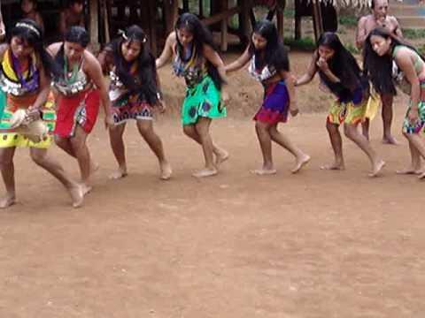 Indigenous Women Ritual Dancing - Panama