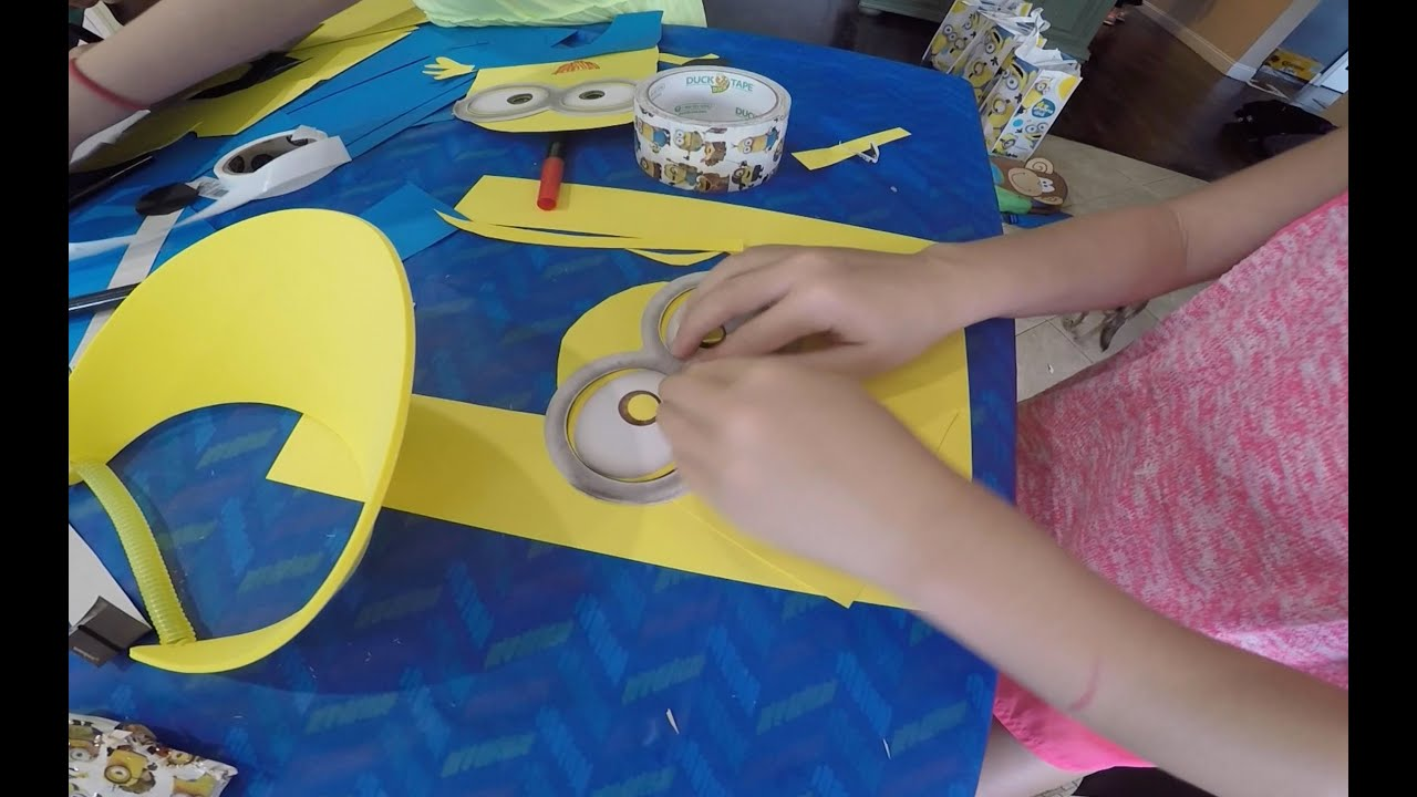 daily vlog minions party w arts and craft ideas for kids