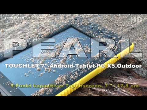 "TOUCHLET 7""- Tablet-PC X5.Outdoor mit Android 4.0"