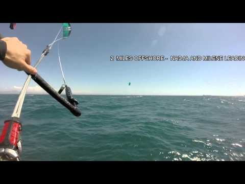 Offshore Kite foiling