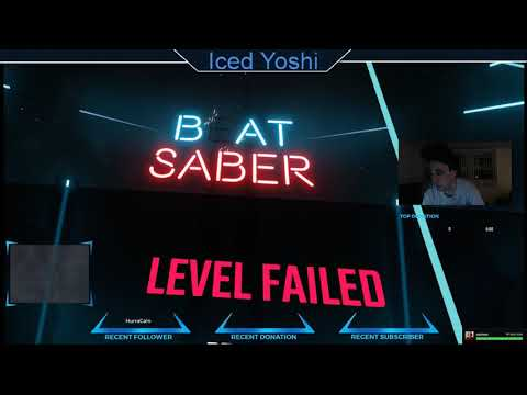 Playing Beat Saber! 1st VR Experience!