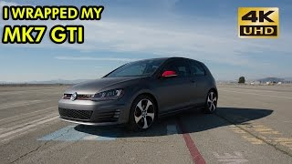 homepage tile video photo for I Wrapped My MK7 GTI - 4K Film