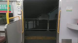 JR西日本213系C-03編成 ドア開閉