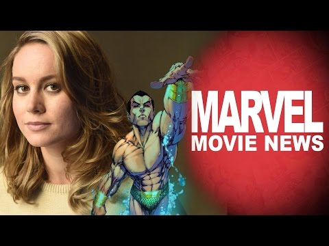 Brie Larson Up for Carol Danvers, Namor Returns and More! - Marvel Movie News Ep 85