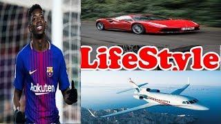Ousmane Dembélé Crazy Lifestyle, House, Cars, Jet, Family, Salary, Girlfriend