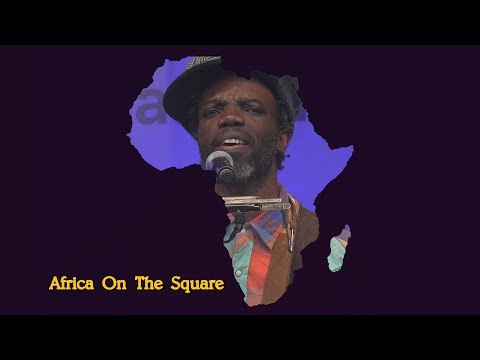 Africa on the Square 2017 – Muntu Valdo  (Cameroon)  - Trafalgar Square London