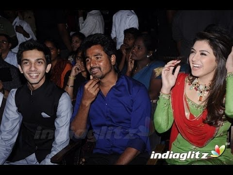 Sivakarthikeyan, Hansika, Anirudh at Maan Karate Audio Launch | AR Murugadoss, Sankar Travel Video