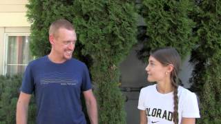 Mandy Ortiz Pre-2015 US Mountain Running Championships Intervi…
