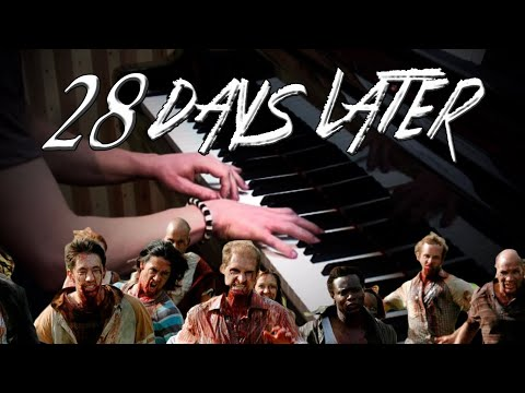 28 Days Later  Main Theme on Piano  Rhaeide