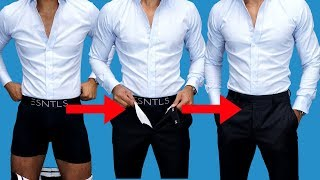 5 HIDDEN Ways To Keep Your Shirt Tucked In ALL Day