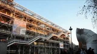 ¿QUE HACER EN PARIS? - VISITA EL CENTRO POMPIDOU - EXPO ANSELM KIEFER