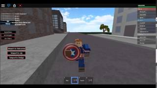 Roblox Avengers age of ultron